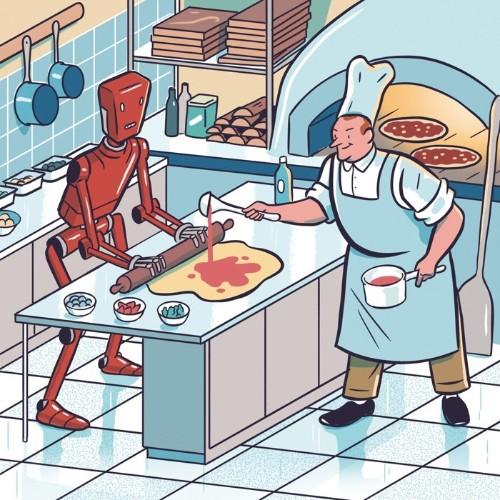 Robots Will Transform Fast Food
