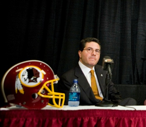 Daniel Snyder's Best Possible Answer to Critics of the Redskins' Name