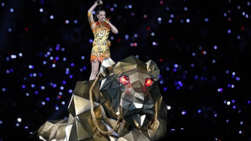 The Terror and Glory of Katy Perry's Super Bowl Performance