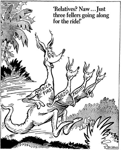 The Complicated Relevance of Dr. Seuss's Political Cartoons