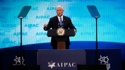 At AIPAC, Trump Policy on Israel Divides American Jews