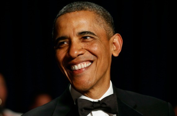 The Time Obama Was Mistaken for a Waiter at a Tina Brown Book Party