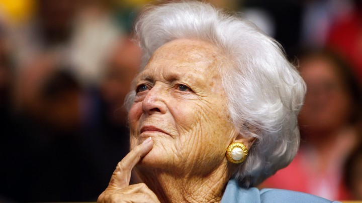 Barbara Bush Changed With Her Country