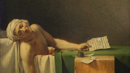 A Hint About the Affliction That Kept Marat in the Bathtub