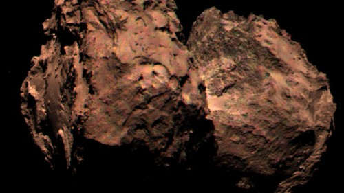 Why We Haven't Seen Rosetta's Comet in Color Until Now