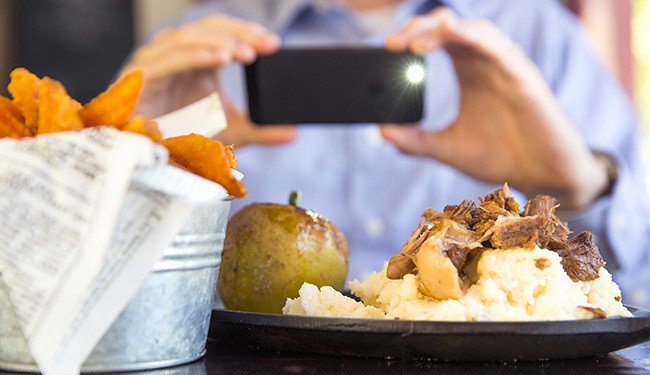 Study: We'll Enjoy Food More If You Don't Instagram It