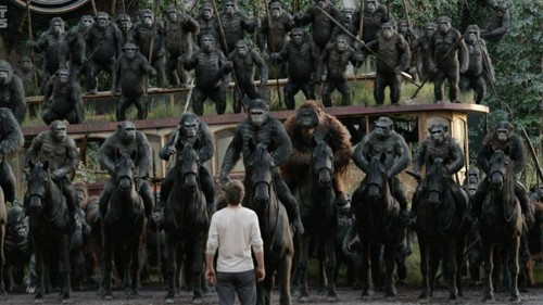 Apes 2, Humans 0: Simians Rule Dawn of the Planet of the Apes