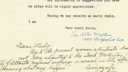 Historic Rejection Letters to Women Engineers