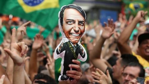 Brazil's Fiery Far-Right Presidential Favorite Channels Trump