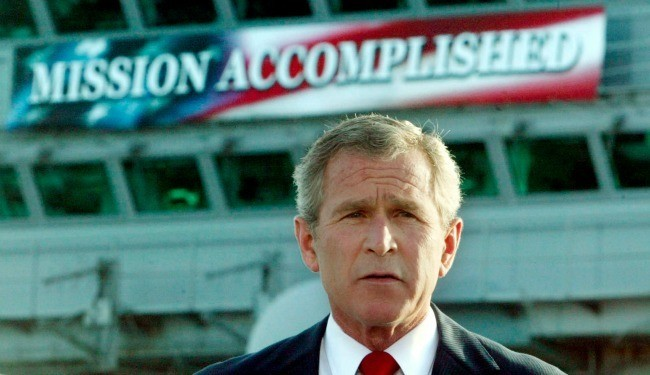 10 Years After 'Mission Accomplished,' the Risks of Another Intervention