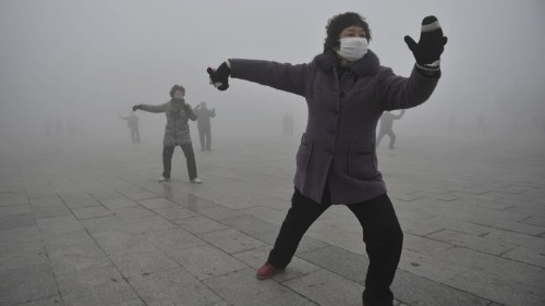 How Climate Change Covered China in Smog