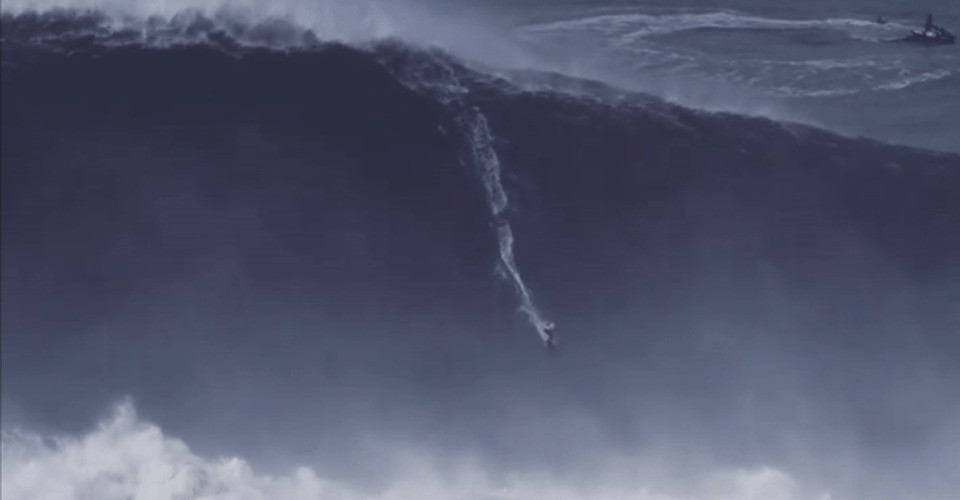 This Woman Surfed the Biggest Wave of the Year