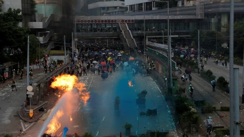 The Rising Costs of Protest in Hong Kong