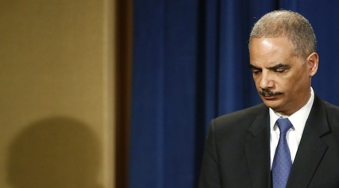What Happened to Eric Holder?