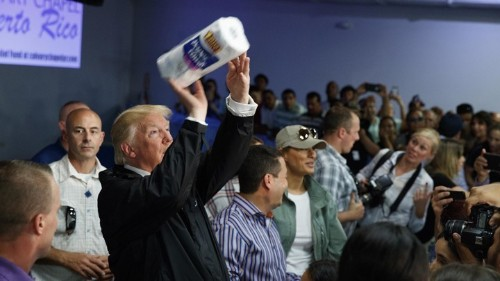 Trump's Dubious Revisionist History of Hurricane Maria