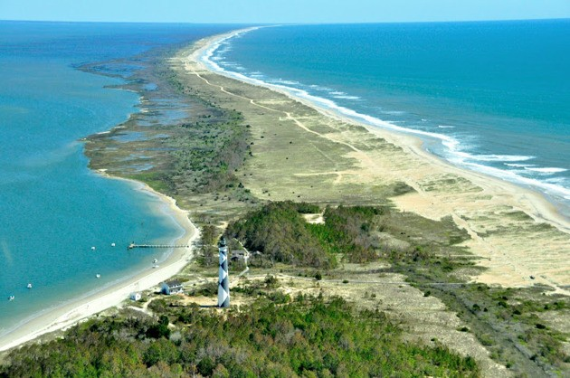 America by Air: Lighthouses of the Outer Banks