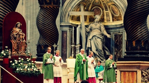 The Vatican's New Stance Toward Gays and Divorcees