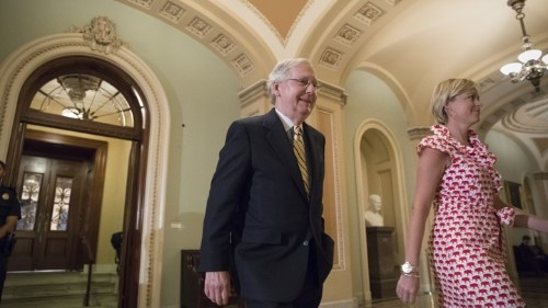 Senate Republicans Clear Key Health-Care Hurdle