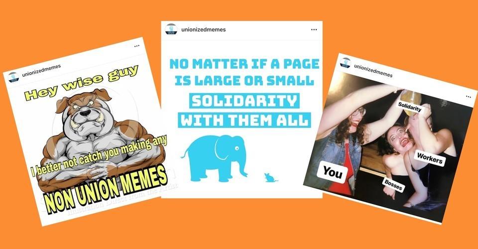 Instagram Memers Are Unionizing