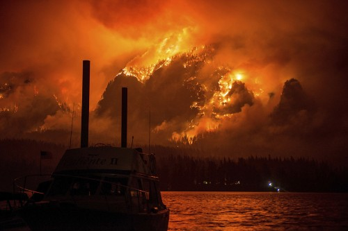 Wildfires Rage Across the American West