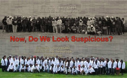 Howard Medical Students: Do We Look Suspicious?