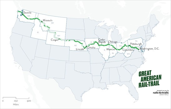 CityLab Daily: A Bike Trail From Sea to Shining Sea