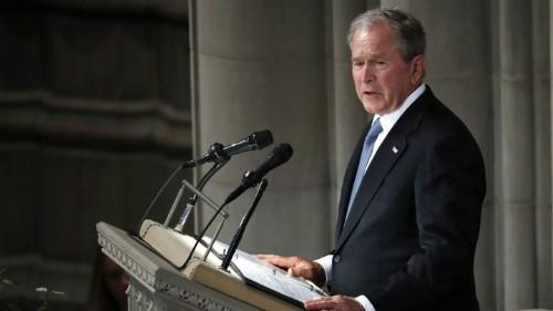 George W. Bush's Eulogy for John McCain