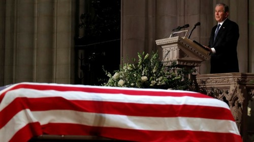 George W. Bush's Eulogy for His Father