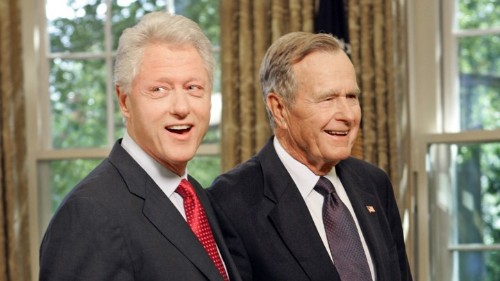 How George H. W. Bush and Bill Clinton Went From Political Rivals to Best Friends