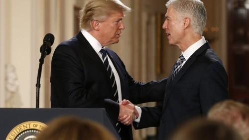 Trump Nominates Neil Gorsuch for the U.S. Supreme Court
