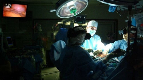 The Future of Surgery: Less Cutting, More Robots