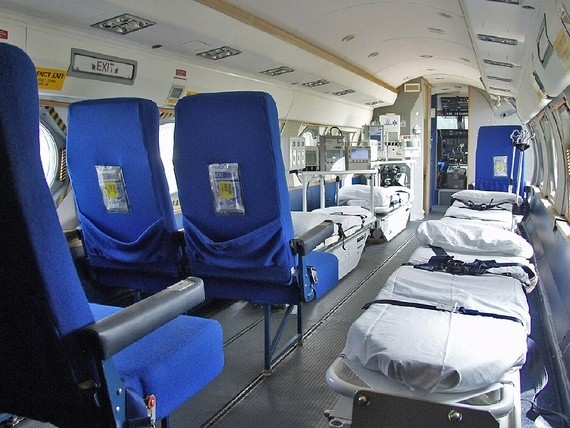 This Jet Was Transformed Into an Ebola Quarantine Unit