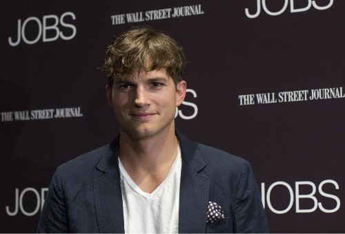 Ashton Kutcher Now Gets to Play Steve Jobs in Real Life (Sort Of)