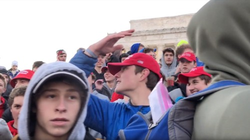 Viral Clash of Students and American Indians Explained
