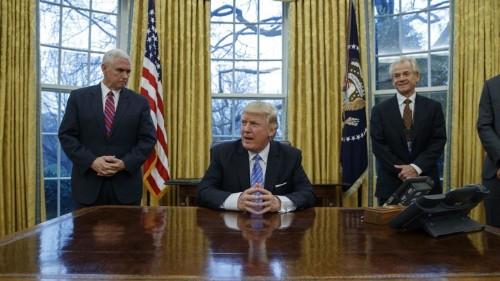 Trump Takes Office, Kills TPP