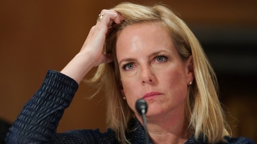 Why Kirstjen Nielsen Sounds Like the Hulk