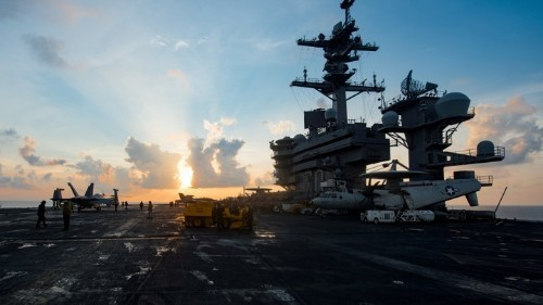 How Did the Trump Administration Lose an Aircraft Carrier?