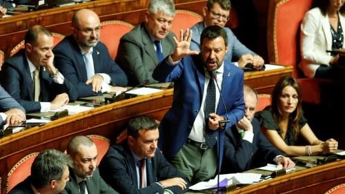 Matteo Salvini Unites Italian Politics (Against Him)