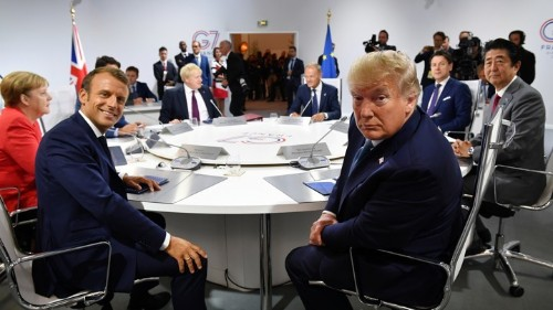 Donald Trump's Two G7 Summits