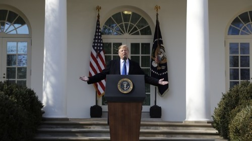 Read President Trump's Speech Declaring a National Emergency