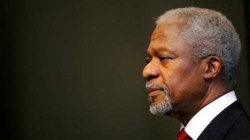 The World's Failure in Rwanda Changed Kofi Annan's Worldview