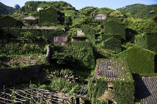 The Abandoned Fishing Village of Houtouwan