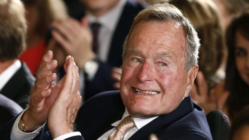 George H. W. Bush Was Decent Even to Rivals Like Me