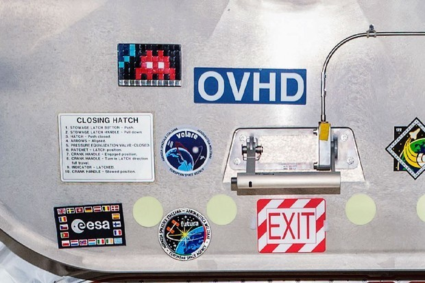 Can You Spot the New Street Art in the Space Station?