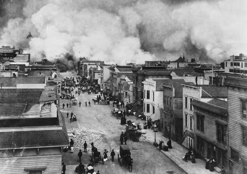 Photos of the 1906 San Francisco Earthquake