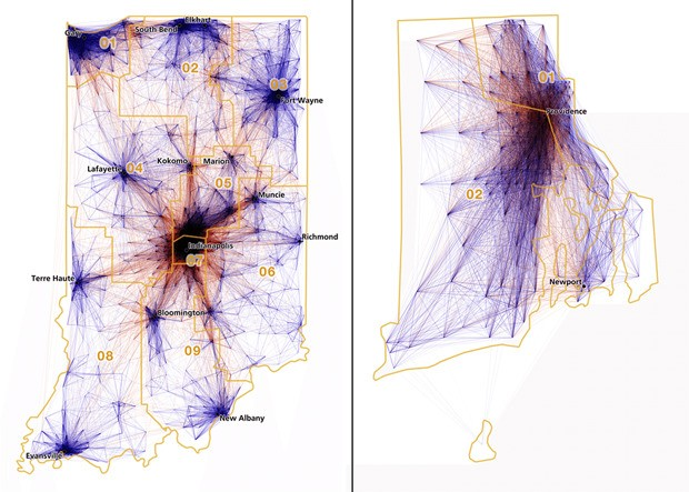 CityLab Daily: Can Commuter Patterns Reveal a Better Electoral Map?