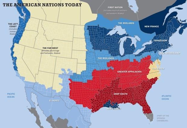 MapLab: America's Rivaling Regions