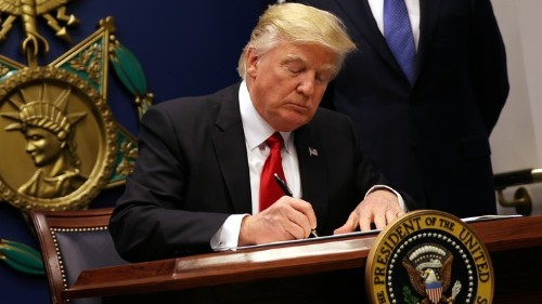 Trump's Flawed Defense of His Immigration Order