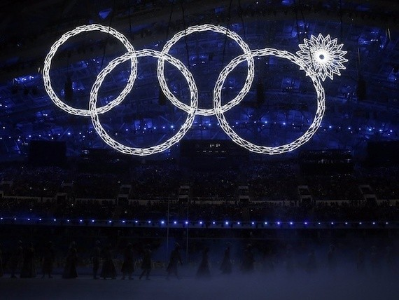 A Sochi Opening-Ceremony Malfunction: It's the Olympics*
