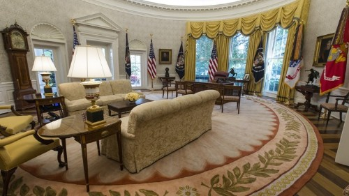Donald Trump's Telling Change to the Oval Office